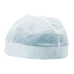 画像1: 紙帽子 丸(不織布)